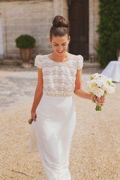 Le mariage d'Audrey et Antoine dans le département de l'Hérault | Photographe : Fanny COMBES | Donne-moi ta main - Blog mariage