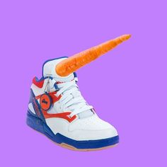// Conceptual / #Serious #Design #Unicorn #Shoes #Carrot