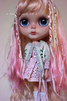 OOAK G.Baby Custom Blythe Doll - Holly #Blythe #DollswithClothingAccessories