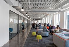 Acticall Sitel Group Office by Gensler - Office Snapshots Corporate Office Design, Corporate Interiors, Workplace Design, Office Interior Design, Office Interiors, Corporate Offices, Office Fit Out, Open Office, Study Office