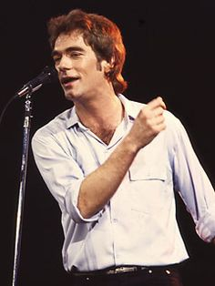 Huey Lewis- gave orders for no one to look at him!