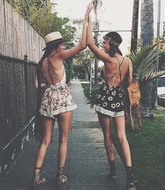 Hippie style ~ Rompers ~ Accessories ~ Summer days ~