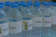 Ετικετες νερου με θεμα Sara Kay Sara Kay, Water Bottle, Drinks, Drinking, Beverages, Water Bottles, Drink, Beverage