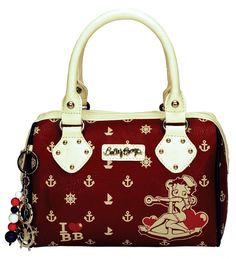 Bolsa Betty Boop Vermelha