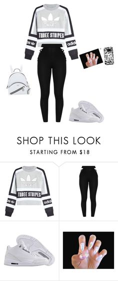 """Untitled #568"" by anahayes on Polyvore featuring adidas Originals and NIKE"