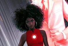 Tony Stark is hanging up his Iron Man suit, but it will be quickly donned by a new hero, a 15-year-old black girl named Riri Williams. And that's canon. 'Riri is a science genius who enrolls in MIT at the age of 15,' Time, which got the scoop, reports. 'She comes to the attention of Tony when she builds her own Iron Man suit in her dorm.' The handover will come at the end of Marvel's comic book event series Civil War II, and was made with TV in mind.