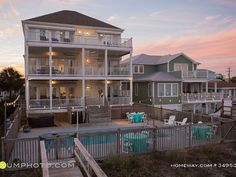 VRBO.com #3495347ha - New Luxury Oceanfront 9 Bdrms Sleeps 36 Pool Hot Tub Elevator