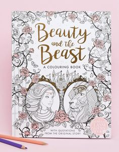 Books Beauty And The Beast Colouring Book