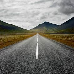 Road no.1 - Imperfect Asymmetry from the series: Noisy Silence - Iceland | Edition 4 of 6 // Endless Road