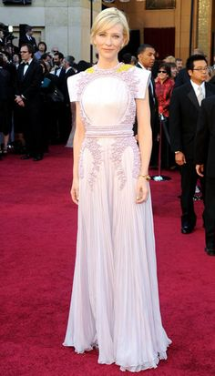 Cate Blanchett in Givenchy couture at the 2011 Academy Awards in Los Angeles