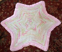 Ravelry: dottiharris' Star Baby Blanket