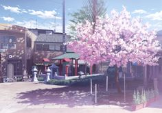 Scenery from www.pixiv.com