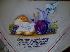 pintura santa ceia - Pesquisa Google Napkins, Clip Art, Embroidery, Tableware, Creative, Pictures, Crafts, Decoration, Simple Crafts