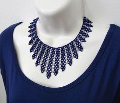 Seed Bead Necklace, Seed Bead Jewelry, Bead Jewellery, Diy Necklace, Jewelry Making Beads, Beaded Necklace Patterns, Beaded Jewelry Designs, Beaded Bracelets, Handmade Beads