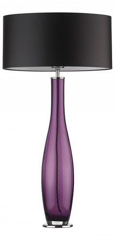 Purple Table Lamp Adorable Table Lamps Designer Modern Purple Art Glass Table Lamp So