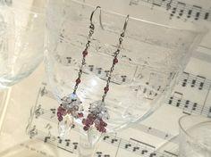 #orecchini#cristallo#rocca#luna#fairy#argento