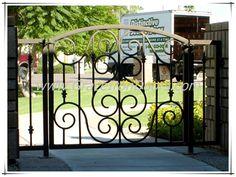 Garden gates iron