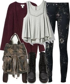 Fashionable and flirty outfit