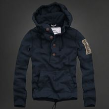 Hombres suéter con capucha chaqueta de lana  90171df7f39