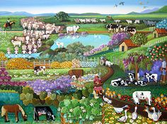 Milk and Honey Farm by Malu Delibo