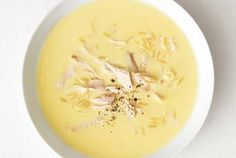 Greek Lemon Chicken Soup @Kasey Collins Collins Gilmore this is one of my favorites!!