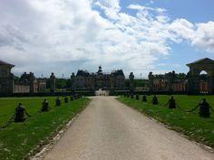 Le Chateau de Vaux Le Vicomte, 50 km. from Paris