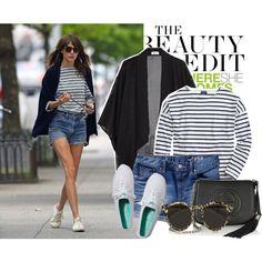 Celebrity Street Style ----Alexa chung