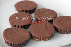 Recept: Peanutbutter & Nutella Cups