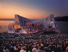 The Marvelous Floating Stage of the Bregenz Festival, Austria