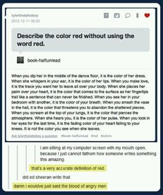 Description of Red