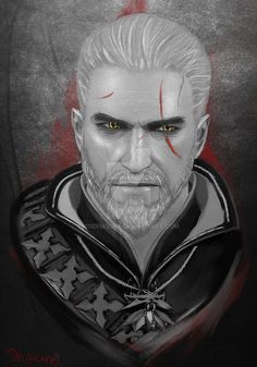 Commison - Geralt of Rivia by 0oDhaxina