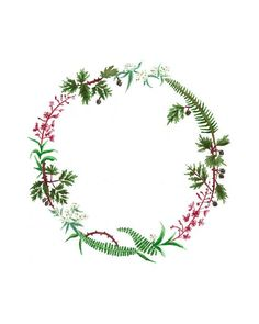 birth wreaths drawing - Google Search