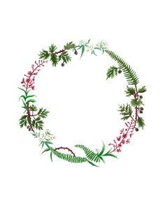 birth wreaths drawing - Google Search