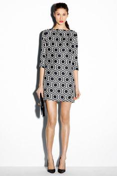 Milly Pre-Fall 2012 Fashion Show - Nastasia Ohl