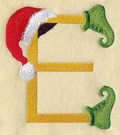 Monogrammed Towel - Christmas Elf