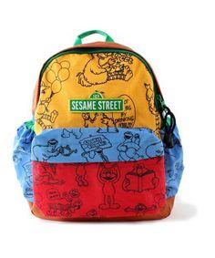 Sesame Street(セサミストリート)のSESAME STREET バックパック(バックパック/リュック)|カラフル