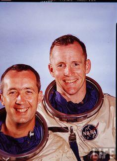 Astronauts In Space, Nasa Astronauts, Mercury Seven, Pete Conrad, Project Gemini, Project Mercury, American Space, John Glenn, Life Space