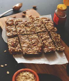 Healthy Five Ingredient Granola Bars