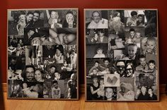 Idea Room Readers Guest Posts-Canvas Photo Collage - The Idea Room