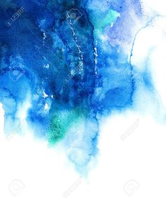 Image result for blue abstract watercolour