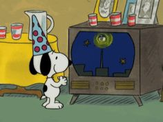 New Year's Eve Gif, New Year Cartoon, We Heart It, Joe Cool, Charlie Brown And Snoopy, Peanuts Snoopy, E Cards, New Years Eve, Wall Collage