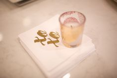 Cocktail napkins #wrapitupparties #candles #xoxo #1stbirthday #littlegirl