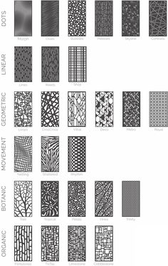 Are you looking to brighten up a dull room and searching for interior design tips? Parametrisches Design, Grill Design, Facade Design, Exterior Design, House Design, Screen Design, Architecture Design, Textured Wall Panels, Metal Wall Panel