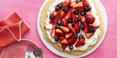 This Red, White, and Blueberry Pizza Is the Only 4th of July Dessert You Need