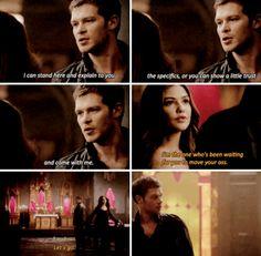 "#TheOriginals 2x11 ""Brotherhood of the Damned"" - Klaus and Davina"