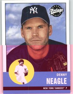 2001 Upper Deck Vintage 158 Denny eagle - New York Yankees (Baseball Cards) *** This is an Amazon Affiliate link. Continue to the product at the image link.