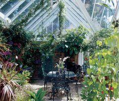Vintageandart: Conservatories and Garden Rooms
