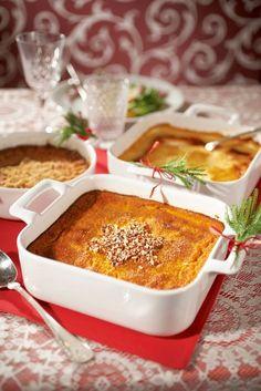 Helppo porkkanalaatikko | K-ruoka #joulu Finland Food, Carrot Casserole, My Favorite Food, Favorite Recipes, Finnish Recipes, Oven Dishes, Rice Dishes, Scandinavian Food, Good Food