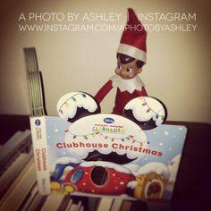 Elf on the Shelf Ideas - Reading