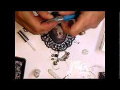 Black Vintage Canvas Tutorial - Jennings644 - YouTube